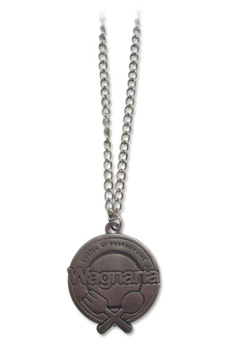 Wagnaria!! Restaurant Logo Necklace, an officially licensed product in our Wagnaria!! Jewelry department.