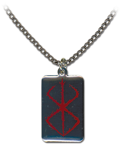 Berserk Mark Of Sacrifice Necklace, an officially licensed product in our Berserk Jewelry department.