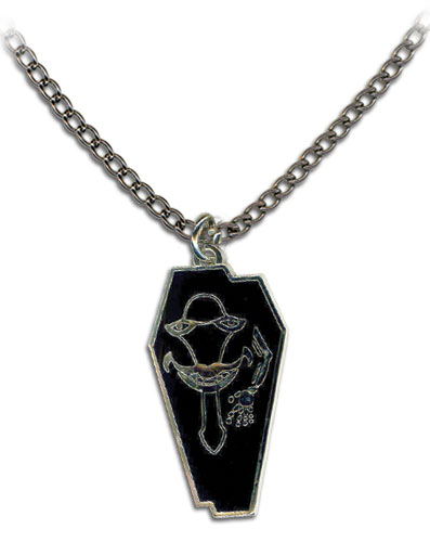 Sword Art Online Laughing Coffin Necklace, an officially licensed product in our Sword Art Online Jewelry department.