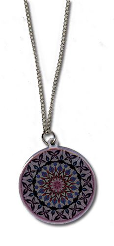 Blast Of Tempest - Magic Circle Metal Necklace, an officially licensed product in our Blast Of Tempest Jewelry department.