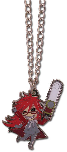 Black Butler Grell Necklace, an officially licensed Black Butler product at B.A. Toys.
