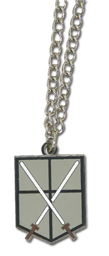 Attack On Titan - 104Th Trainees Squad Emblem Necklace, an officially licensed product in our Attack On Titan Jewelry department.