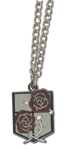 Attack On Titan - Stationary Guard Emblem Necklace, an officially licensed Attack On Titan product at B.A. Toys.
