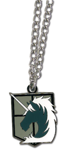 Attack On Titan - Military Police Emblem Necklace, an officially licensed product in our Attack On Titan Jewelry department.