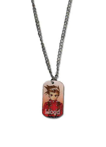 Tales Of Symphonia - Lloyd Dog Tag Necklace, an officially licensed product in our Tales Of Symphonia Jewelry department.