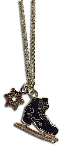 Yuri On Ice!!! - Victor Ice Skates Necklace, an officially licensed product in our Yuri!!! On Ice Jewelry department.