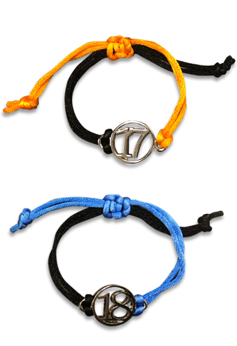 Dragon Ball Z - Android 17 & 18 Bracelet Set, an officially licensed product in our Dragon Ball Z Jewelry department.