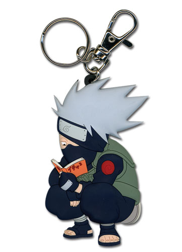 Naruto Kakashi Reading The Paradise Pvc Key Chain, an officially licensed product in our Naruto Key Chains department.