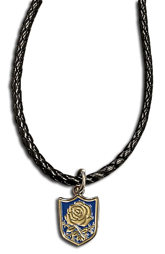 Black Clover - Blue Knights Leather Necklace, an officially licensed Black Clover product at B.A. Toys.