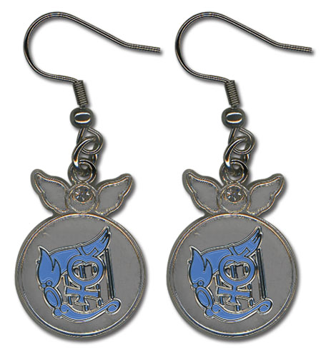 Sailor Moon - Mercury Change Rod Earrings, an officially licensed product in our Sailor Moon Jewelry department.