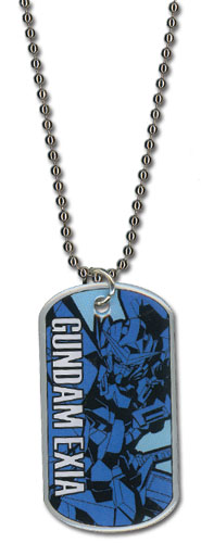 Gundam 00 - Exia Necklace officially licensed Gundam 00 Jewelry product at B.A. Toys.