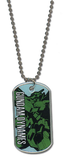 Gundam 00 - Dynames Necklace officially licensed Gundam 00 Jewelry product at B.A. Toys.