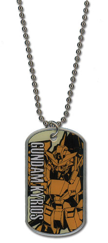 Gundam 00 - Kyrios Necklace officially licensed Gundam 00 Jewelry product at B.A. Toys.