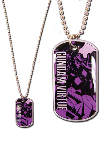 Gundam 00 - Virtue Necklace officially licensed Gundam 00 Jewelry product at B.A. Toys.