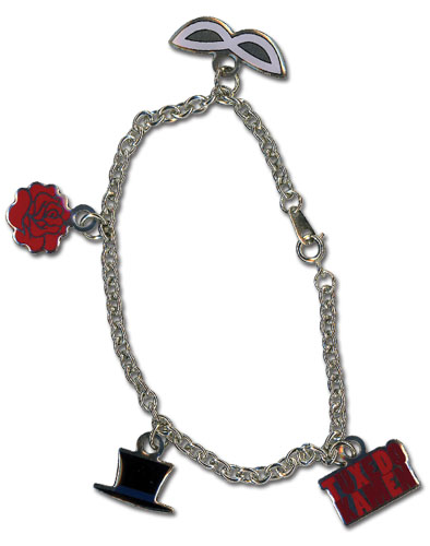 Sailor Moon - Tuxedo Kamen Bracelet, an officially licensed product in our Sailor Moon Jewelry department.