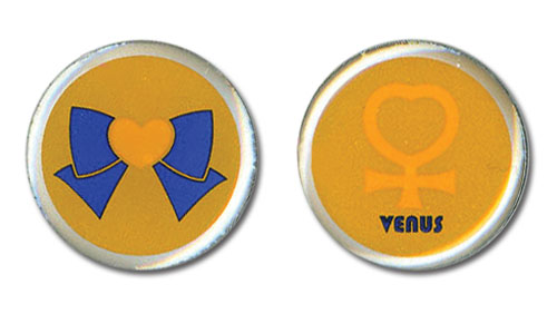 Sailor Moon - Venus Earrings, an officially licensed product in our Sailor Moon Jewelry department.