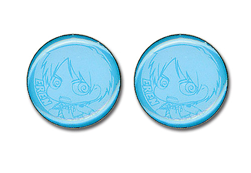 Attack On Titan Eren Earrings, an officially licensed Attack On Titan product at B.A. Toys.