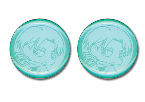 Attack On Titan - Levi Earrings, an officially licensed Attack On Titan product at B.A. Toys.