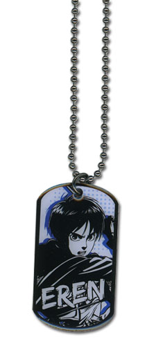Attack On Titan - Eren Necklace, an officially licensed Attack on Titan Jewelry