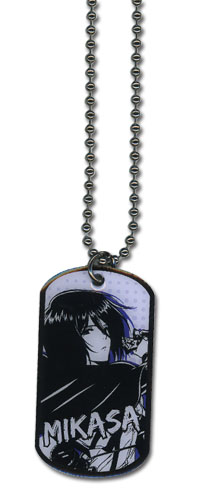 Attack On Titan - Mikasa Necklace, an officially licensed Attack On Titan product at B.A. Toys.