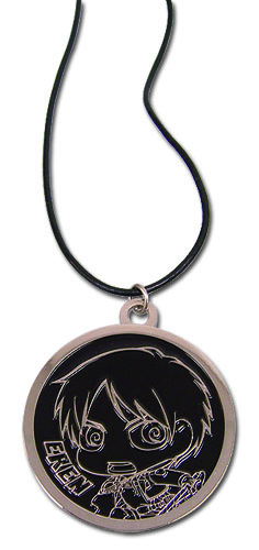 Attack On Titan - Eren Sd Necklace, an officially licensed Attack On Titan product at B.A. Toys.