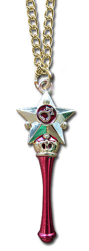 Sailor Moon - Mars Moon Pen Necklace, an officially licensed product in our Sailor Moon Jewelry department.