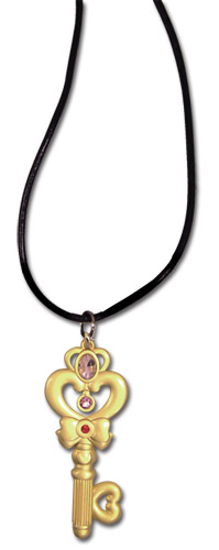 Sailor Moon R - Time Key Necklace, an officially licensed product in our Sailor Moon Jewelry department.