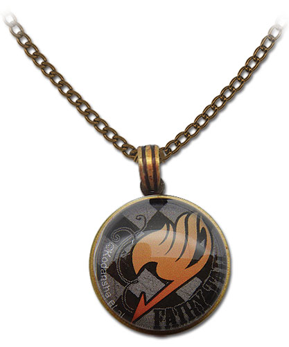 Fairy Tail - Guild Emblem Grid Necklace, an officially licensed product in our Fairy Tail Jewelry department.