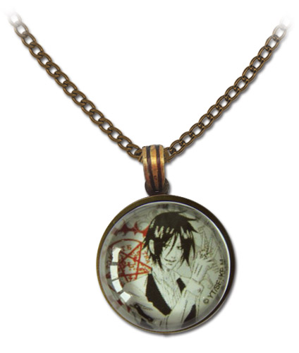 Black Butler - Sebastian Brown Necklace, an officially licensed product in our Black Butler Jewelry department.