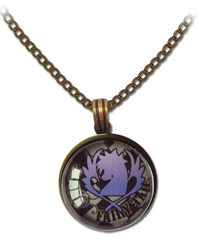Fairy Tail - Blue Pegasus Icon Necklace, an officially licensed product in our Fairy Tail Jewelry department.