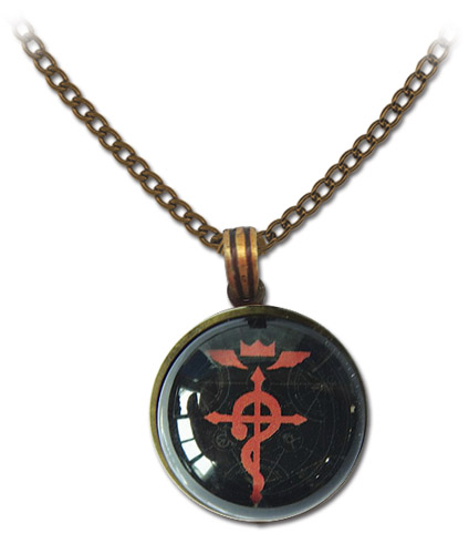 Fma Brotherhood - Icon Necklace, an officially licensed product in our Fullmetal Alchemist Jewelry department.