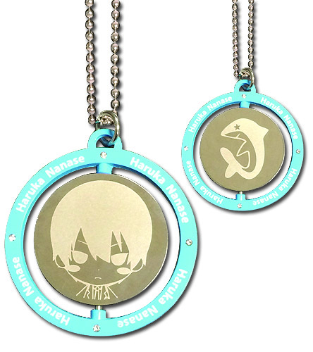 Free! - Haruka Blue Metal Necklace, an officially licensed product in our Free! Jewelry department.