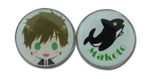Free! - Makoto Sd Earrings, an officially licensed product in our Free! Jewelry department.