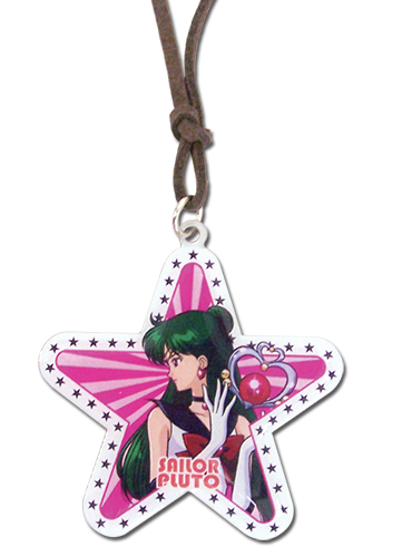 Sailor Moon - Sailor Pluto Star Necklace, an officially licensed product in our Sailor Moon Jewelry department.