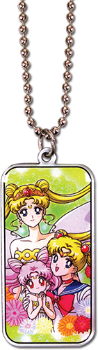 Sailor Moon - Sailor Moon, Neo Queen Serenity & Chibiusa Necklace, an officially licensed product in our Sailor Moon Jewelry department.