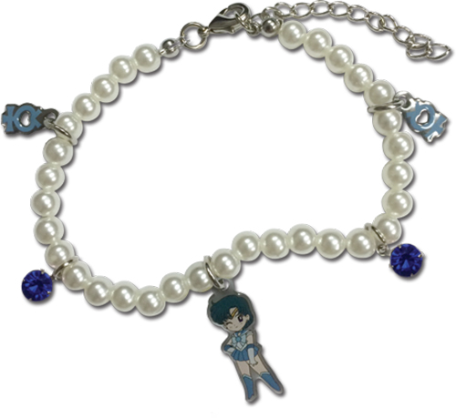 Sailor Moon - Sd Sailor Mercury Pearl Bracelet, an officially licensed product in our Sailor Moon Jewelry department.