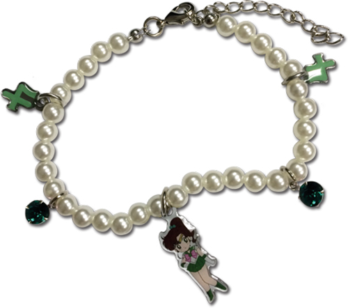 Sailor Moon - Sd Sailor Jupiter Pearl Bracelet, an officially licensed product in our Sailor Moon Jewelry department.