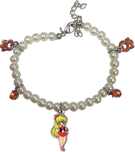 Sailor Moon - Sd Sailor Moon Venus Pearl Bracelet, an officially licensed product in our Sailor Moon Jewelry department.