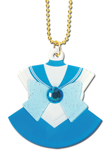 Sailor Moon - Sailor Mercury Costume Acrylic Necklace, an officially licensed product in our Sailor Moon Jewelry department.
