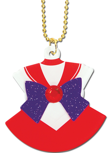Sailor Moon - Sailor Mars Costume Acrylic Necklace, an officially licensed product in our Sailor Moon Jewelry department.