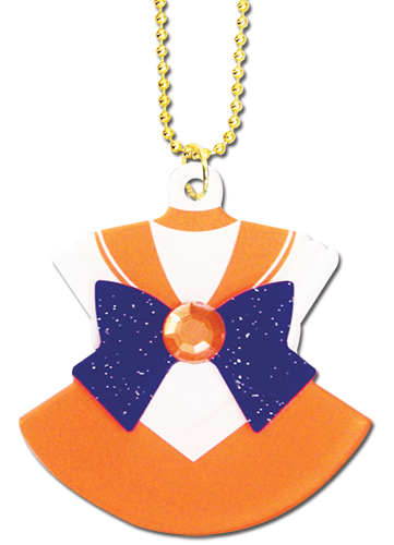 Sailor Moon - Sailor Venus Costume Acrylic Necklace, an officially licensed product in our Sailor Moon Jewelry department.