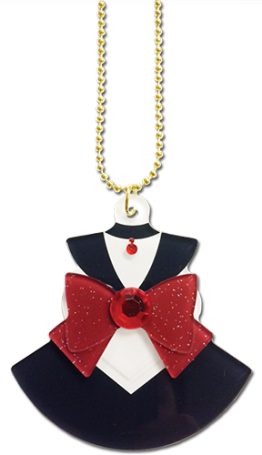 Sailor Moon - Sailor Pluto Costume Acrylic Necklace, an officially licensed product in our Sailor Moon Jewelry department.