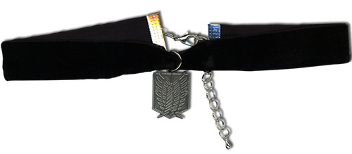 Attack On Titan - Scout Regiment Choker, an officially licensed product in our Attack On Titan Jewelry department.