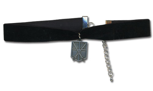 Attack On Titan - Cadet Corps Choker, an officially licensed product in our Attack On Titan Jewelry department.
