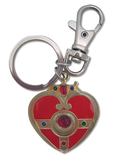 Sailormoon S Cosmic Heart Metal Keychain, an officially licensed product in our Sailor Moon Key Chains department.