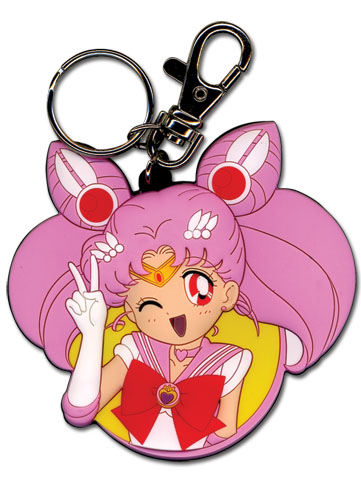 Sailormoon S Chibimoon Pvc Keychain, an officially licensed product in our Sailor Moon Key Chains department.