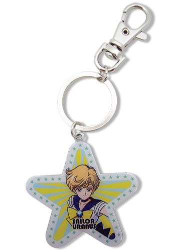 Sailormoon S Uranus Metal Keychain, an officially licensed product in our Sailor Moon Key Chains department.