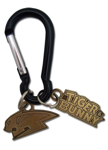 Tiger & Bunny Koletsu Metal Keychain, an officially licensed product in our Tiger & Bunny Key Chains department.