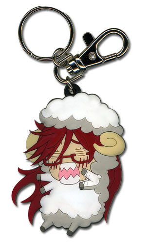 Black Butler - Sheep Grell Pvc Keychain, an officially licensed Black Butler Key Chain