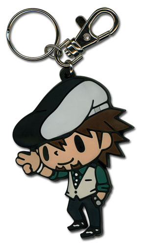 Tiger & Bunny - Kotetsu Sd Pvc Keychain, an officially licensed product in our Tiger & Bunny Key Chains department.